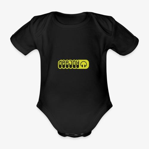 DJ - Body orgánico de maga corta para bebé