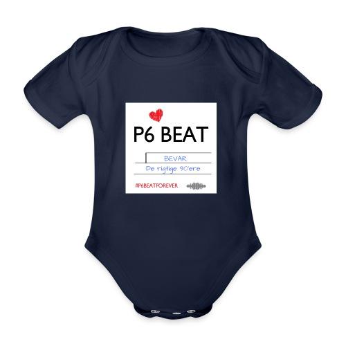 P6 Beat de rigtige 90 - Kortærmet babybody, økologisk bomuld