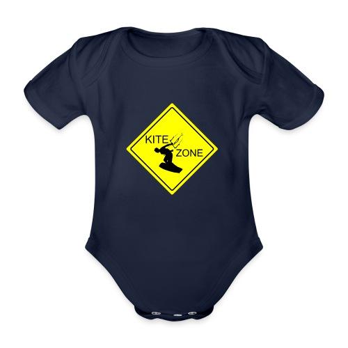 Kite zone - Ekologiczne body niemowlęce z krótkim rękawem