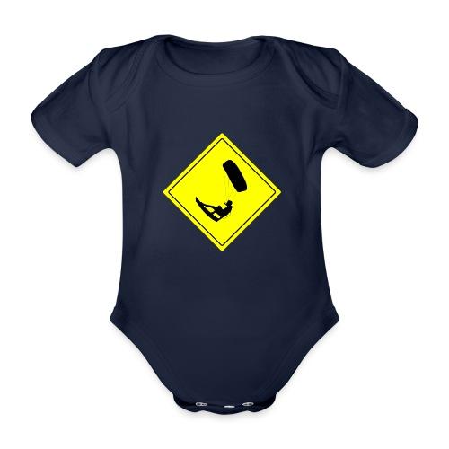 Kiteboarder - Ekologiczne body niemowlęce z krótkim rękawem