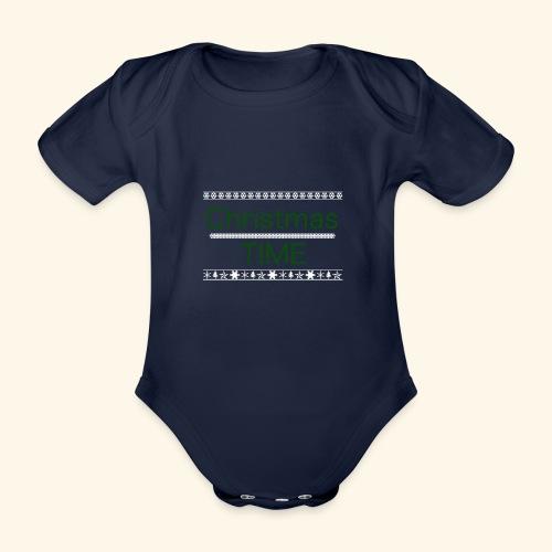 Christmas Time - Baby Bio-Kurzarm-Body