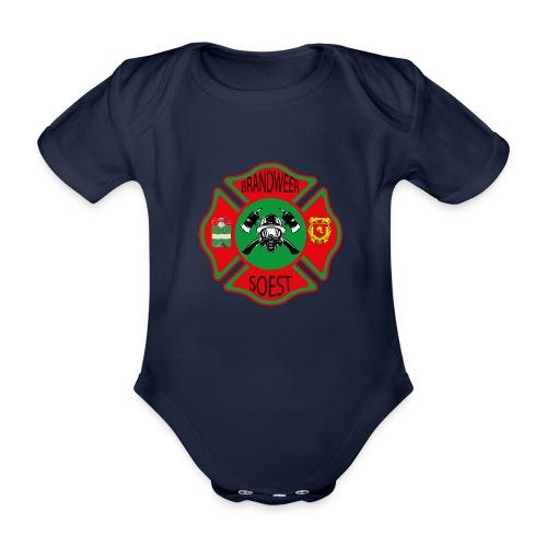 Patch Brandweer Soest - Baby bio-rompertje met korte mouwen