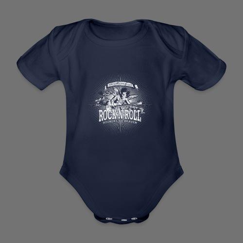 Rock 'n' Roll - Sounds Like Heaven (white) - Organic Short-sleeved Baby Bodysuit