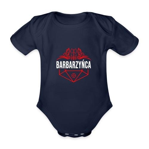 Klasa: barbarzyńca - Ekologiczne body niemowlęce z krótkim rękawem