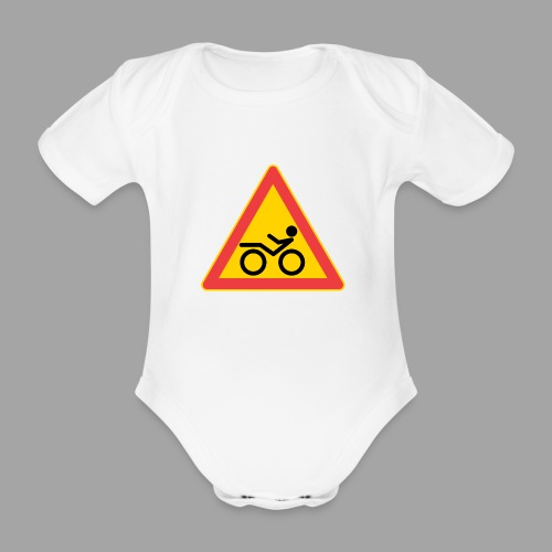 Traffic sign Recumbent - Vauvan lyhythihainen luomu-body