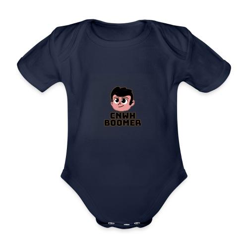 CnWh Boomer Merch - Ekologisk kortärmad babybody