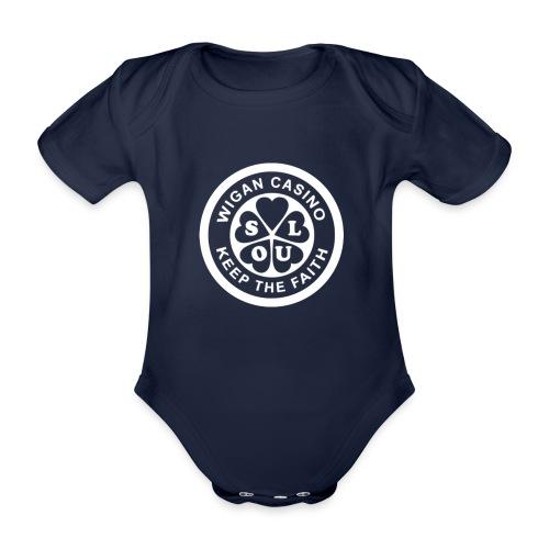 Wigan Casino - Organic Short-sleeved Baby Bodysuit