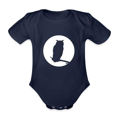 Uggla - Ekologisk kortärmad babybody