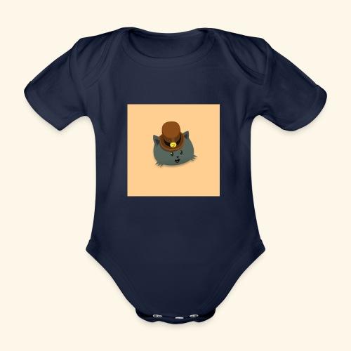 HCP custo 12 - Organic Short-sleeved Baby Bodysuit
