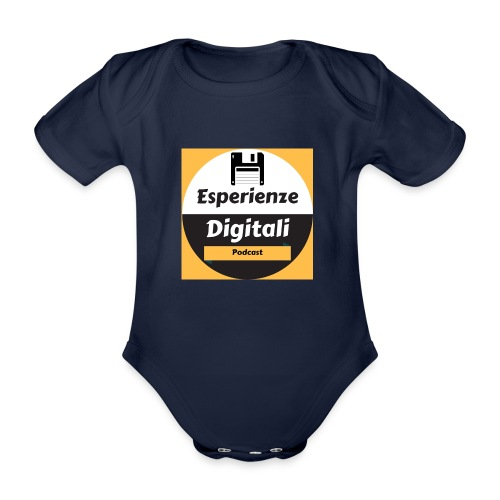 Logo Esperienze Digitali - Body ecologico per neonato a manica corta