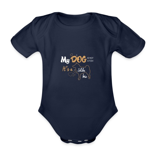DOG - Body Bébé bio manches courtes