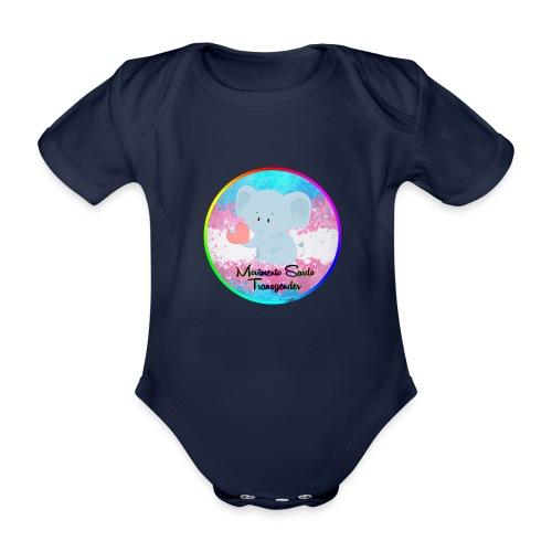 Logo Dell'Associazione Movimento Sardo Transgender - Body ecologico per neonato a manica corta