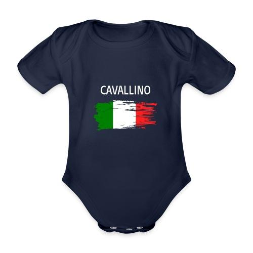Cavallino Fanprodukte - Baby Bio-Kurzarm-Body