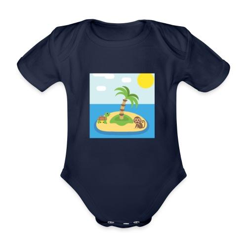 apa - Ekologisk kortärmad babybody