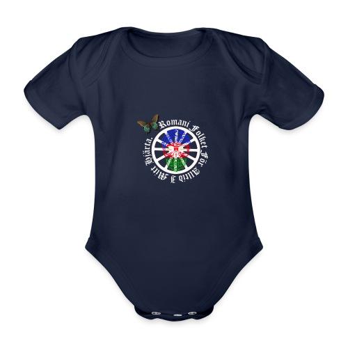 LennyhjulRomaniFolketivitfjerliskulle - Ekologisk kortärmad babybody