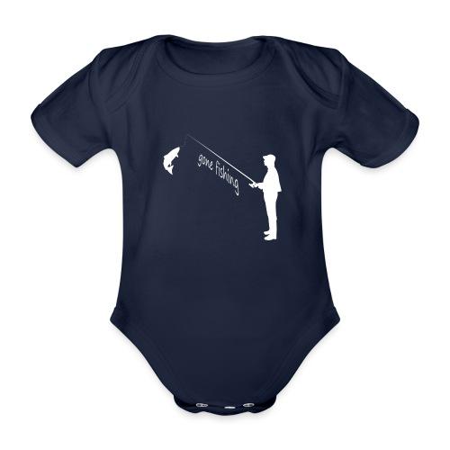 gone fishing - Baby Bio-Kurzarm-Body