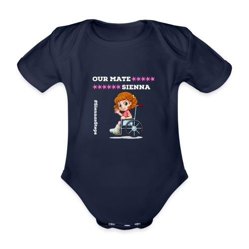 Our Mate SIENNA Dark Range 1 - Organic Short-sleeved Baby Bodysuit
