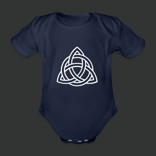 Celtic Knot — Celtic Circle - Organic Short-sleeved Baby Bodysuit