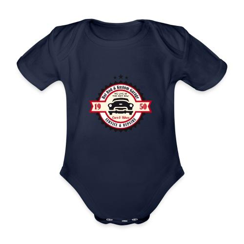 Hot Rod and Kustom Garage - Baby Bio-Kurzarm-Body