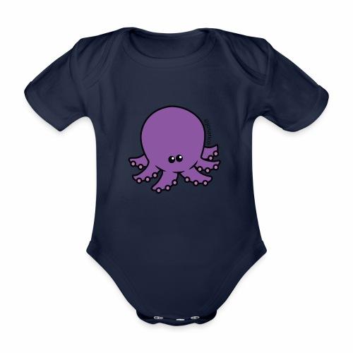 Pulpito - Body orgánico de maga corta para bebé