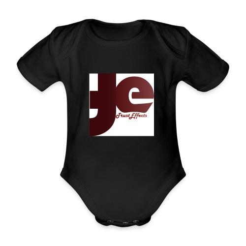 company logo - Organic Short-sleeved Baby Bodysuit