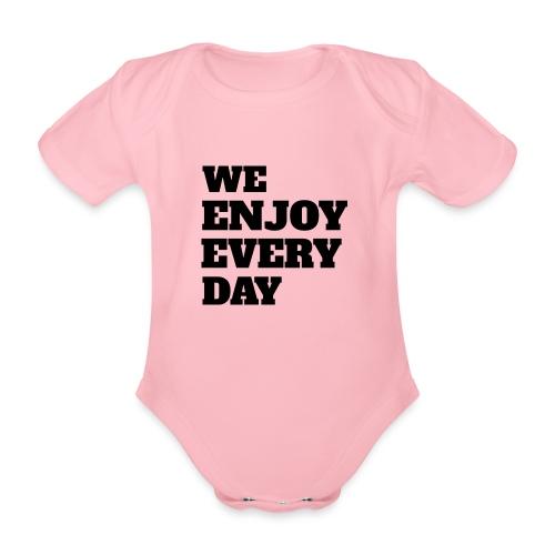 Enjoy - Body Bébé bio manches courtes