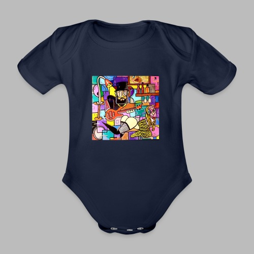Vunky Vresh Vantastic - Baby bio-rompertje met korte mouwen