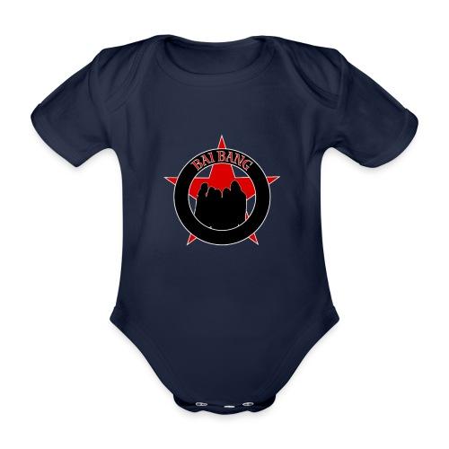 ryggtavla2 - Organic Short-sleeved Baby Bodysuit