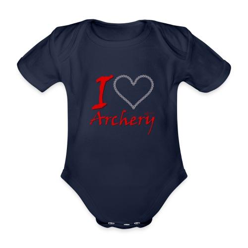 Archery Love - Baby Bio-Kurzarm-Body