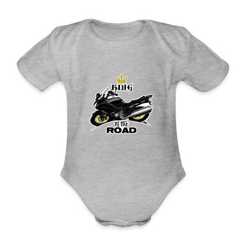 0886 FJR ULTIMATE - Baby bio-rompertje met korte mouwen