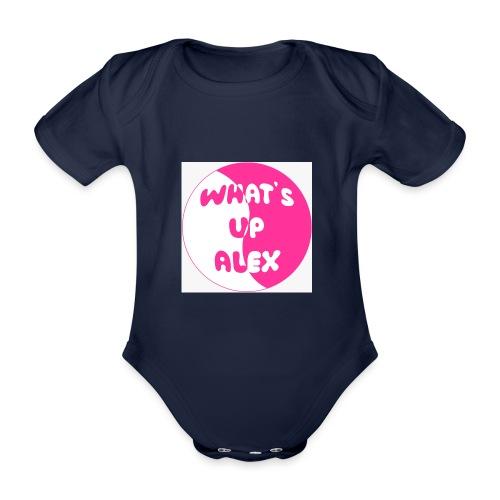45F8EAAD 36CB 40CD 91B7 2698E1179F96 - Organic Short-sleeved Baby Bodysuit