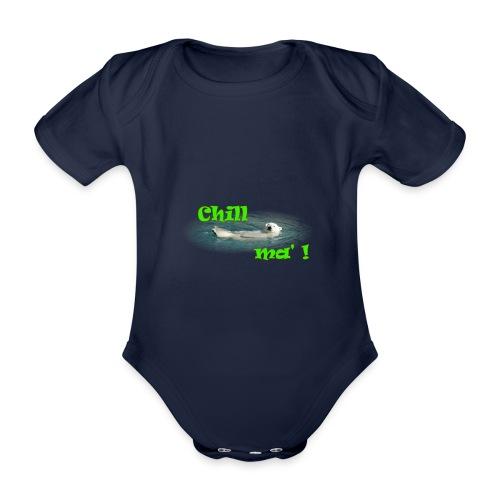 Chill ma'! - Bär - Baby Bio-Kurzarm-Body