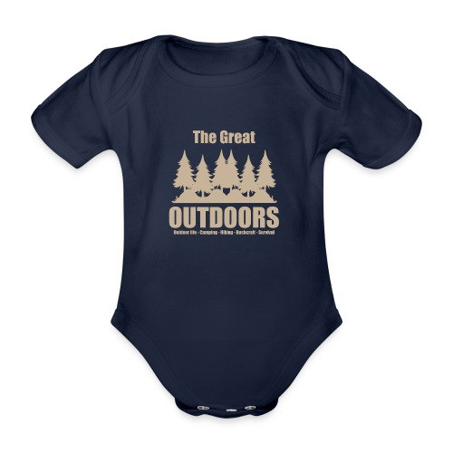 The great outdoors - Clothes for outdoor life - Organic Short-sleeved Baby Bodysuit