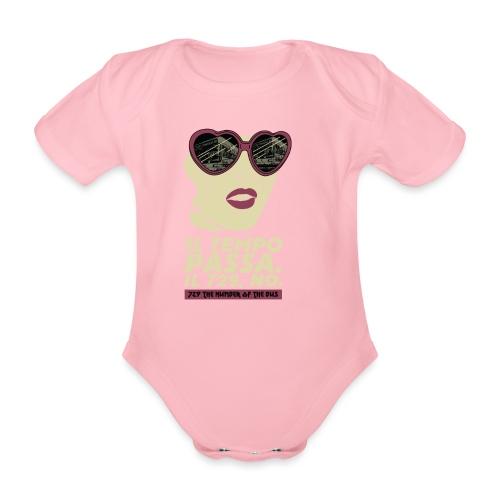 729 copy 4 - Body ecologico per neonato a manica corta