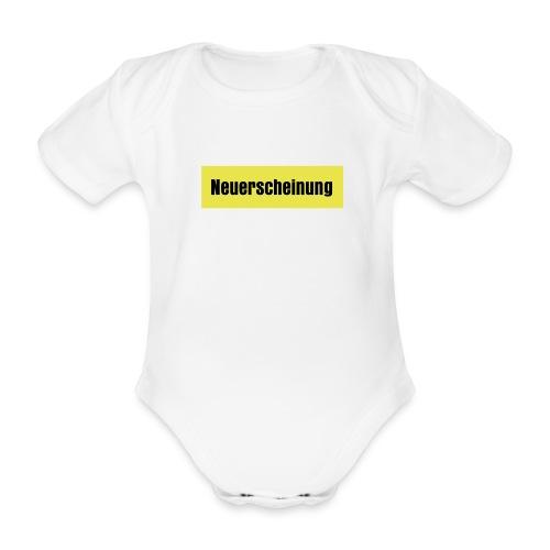 neuerscheinung - Baby Bio-Kurzarm-Body