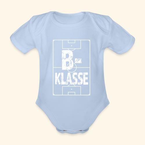 B-Klasse im Fußballfeld - Baby Bio-Kurzarm-Body