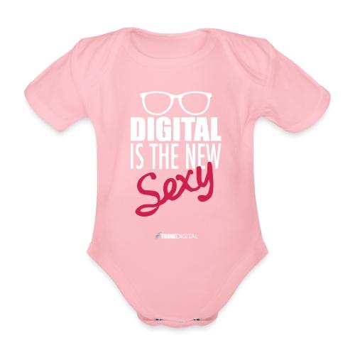 DIGITAL is the New Sexy - Lady - Body ecologico per neonato a manica corta