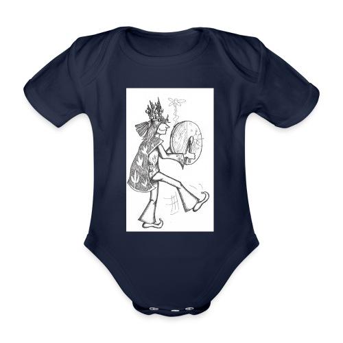 Schamane - Baby Bio-Kurzarm-Body