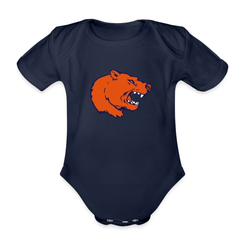 Logo St. Gallen Bears - Baby Bio-Kurzarm-Body