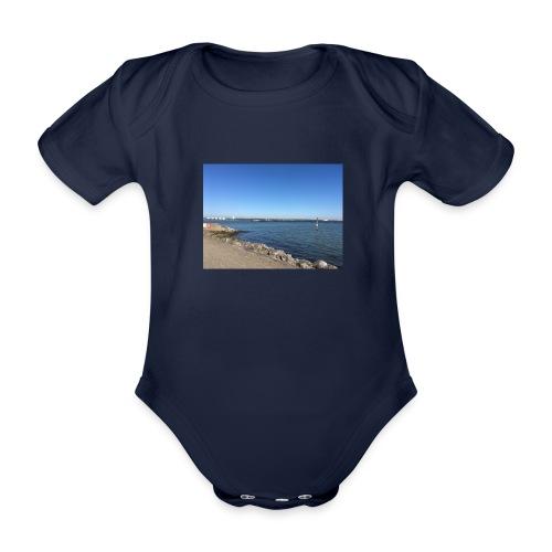 hythe Pier - Organic Short-sleeved Baby Bodysuit