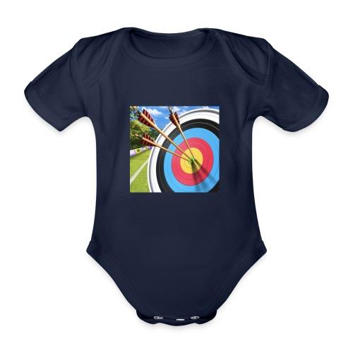 13544ACC 89C4 4278 B696 55956300753D - Økologisk kortermet baby-body