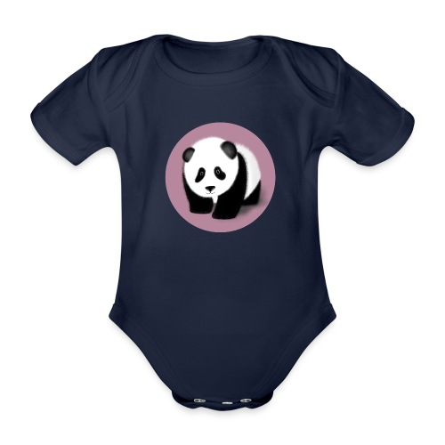 Little Panda Norina - Baby Bio-Kurzarm-Body