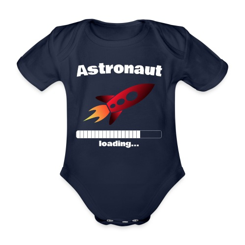 Astronaut loading... Baby Motiv - Baby Bio-Kurzarm-Body