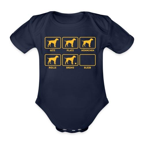 Für alle Hundebesitzer mit Humor - Baby Bio-Kurzarm-Body