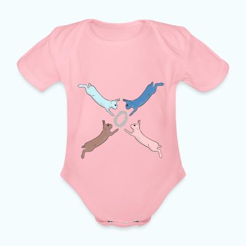 Easter - Organic Short-sleeved Baby Bodysuit