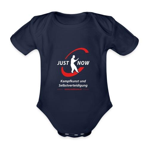 JustKnow - Kampfkunst und Selbstverteidigung - Baby Bio-Kurzarm-Body