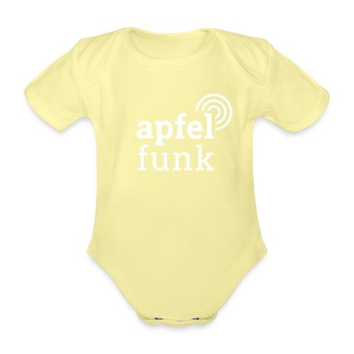 Apfelfunk Dark Edition - Baby Bio-Kurzarm-Body