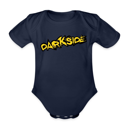 Darkside - Organic Short-sleeved Baby Bodysuit