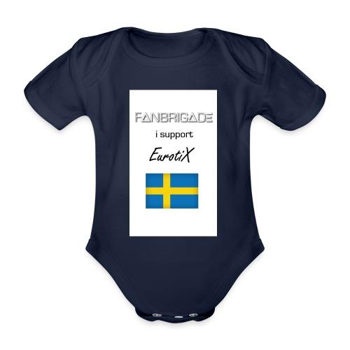 Fanbrigade - Kortærmet babybody, økologisk bomuld