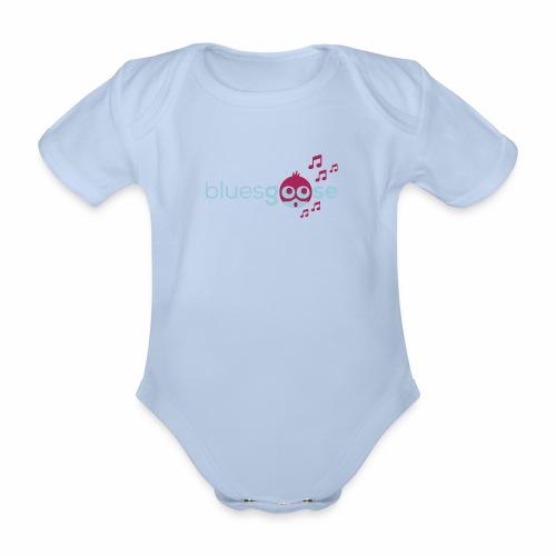 bluesgoose #01 - Baby Bio-Kurzarm-Body
